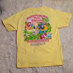 Margaritaville Cayman Islands Yellow Shirt Medium